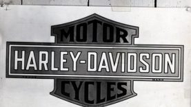 HARLEY DAVIDSON BAR AND SHİELD LOGOSU