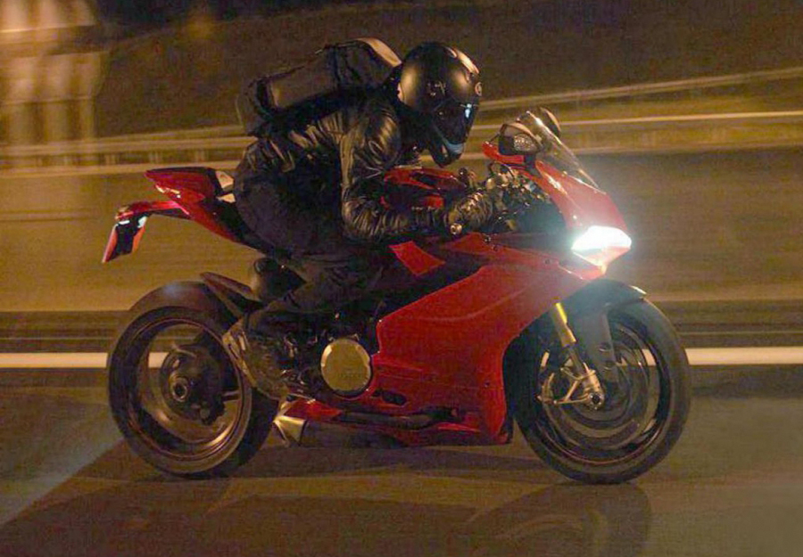 Burn Out ducati panigale